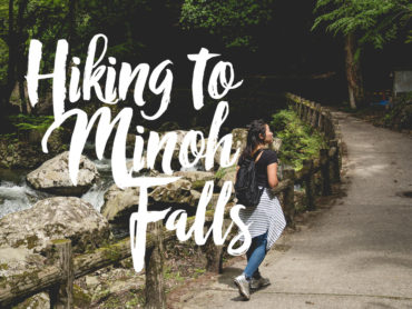 Hiking to Minoh Falls