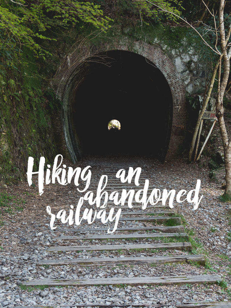 hiking an abandoned railway