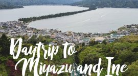 Daytrip to Miyazu and Ine, Kyoto