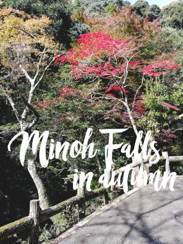 Minoh Falls in autumn